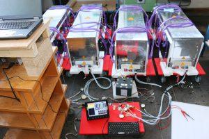 Ibetriebnahme der Batterien für Solar Impulse HB-SIB